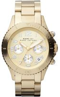 Marc By Marc Jacobs Womens Goldtone Stainless Steel Bracelet 40mm - Lyst