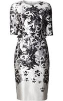 Prabal Gurung Flower Print Dress - Lyst
