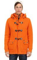 Bark Wool Blend Duffle Coat - Lyst
