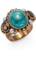 Stephen Dweck Mixedstone Turquoise Statement Ring - Lyst