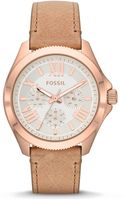 Fossil Ladies Rose Goldtone Cecile Multifunctional Watch - Lyst