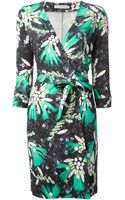 Mary Katrantzou Rouch Printed Dress - Lyst