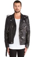 Blk Dnm Motorcycle Leather Jacket 5 - Lyst