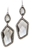 Adia Kibur Crystal Pave Earrings  - Lyst