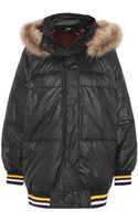 DKNY  Cara Delevingne Padded Shell Jacket - Lyst