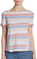 Marc By Marc Jacobs Sketch Stripe Jersey Top - Lyst