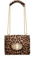 Marchesa Daphne Mini Calf Hair Crossbody Bag - Lyst