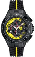 Scuderia Ferrari Mens Swiss Chronograph Race Day Yellow and Black Silicone Strap 44mm - Lyst