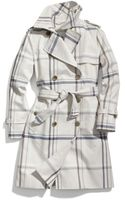 Coach Tattersall Long Trench - Lyst