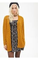 Forever 21 Textured Open Front Cardigan - Lyst