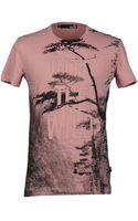 Love Moschino Short Sleeve Tshirt - Lyst
