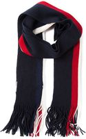 Moncler Striped Scarf - Lyst