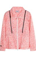 Adidas By Stella Mccartney Run Performance Printed Climalitee Shell Jacket - Lyst