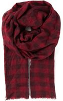 Isabel Marant Hamper Checked Scarf - Lyst