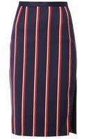 Altuzarra Faun Striped Pencil Skirt - Lyst