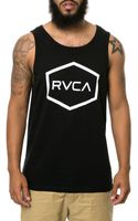 RVCA The Hexed Tank - Lyst