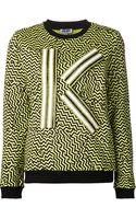 Kenzo K Sweatshirt - Lyst