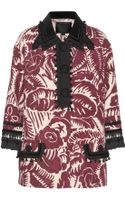 Marc Jacobs Embellished Printed Wool Jacket - Lyst