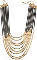 Panacea Multi-strand Barrel Beaded Necklace - Lyst
