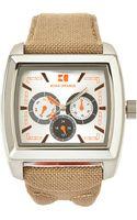 Boss Orange Silver-tone  Khaki Chronograph Watch - Lyst