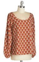 Sweet Claire Inc. Merry Potter Top - Lyst