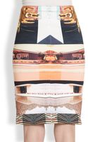 Clover Canyon Desert Home Neoprene Pencil Skirt - Lyst