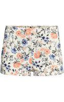 H&M Twill Shorts - Lyst
