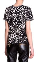 Fausto Puglisi Leopard Print Tshirt - Lyst