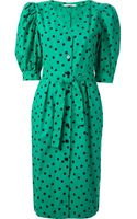 Guy Laroche Vintage Printed Dress - Lyst