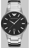 Emporio Armani Classic Stainless Steel Watch - Lyst