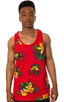 Obey The Aloha Tank - Lyst