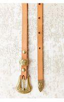 Kimchi Blue Skinny Floral Buckle Belt - Lyst