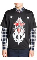 Givenchy Anchor Graphic Tee - Lyst
