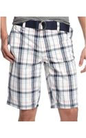 American Rag Plaid Shorts - Lyst