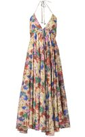 Zimmermann Haze Floralprint Dress - Lyst