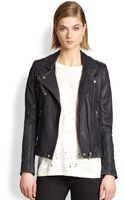 Iro Tara Leather Motorcycle Jacket - Lyst
