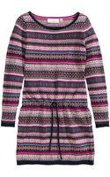 H&M Jacquard-knit Dress - Lyst