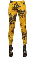 Etro Floral Printed Techno Duchesse Trousers - Lyst