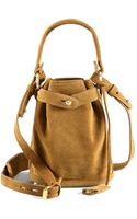 Opening Ceremony Pop-up Suede Bucket Bag - Lyst