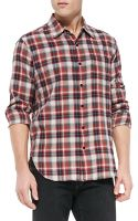 Rag & Bone Plaid Beach Shirt - Lyst