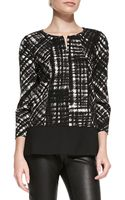 Lafayette 148 New York Reese Printed Blouse - Lyst