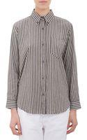 Etoile Isabel Marant Bengal Stripe Shirt - Lyst