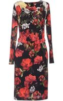 Angelo Marani Kneelength Dress - Lyst