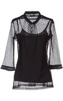 Guess Shirt with Mid-length Sleeves - Lyst