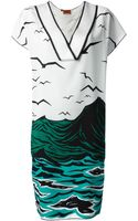 Missoni Acqua Print Dress - Lyst