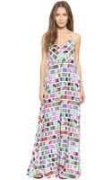 Mara Hoffman Printed Maxi Dress - Belts - Lyst