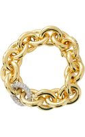 Eddie Borgo Pave Link Chain Bracelet - Lyst