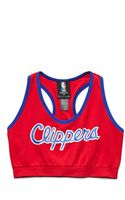 Forever 21 Los Angeles Clippers Sports Bra - Lyst