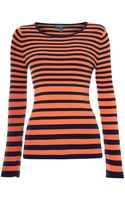 Lauren by Ralph Lauren Long Sleeve Crew Neck Knit - Lyst