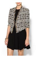 Twelfth Street Cynthia Vincent Beaded Cropped Jacket - Lyst